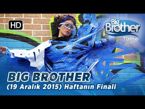 Big Brother Türkiye Haftanın Finali (19 Aralık 2015) - Bölüm 26