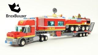 Lego City 4430 Fire Transporter - Lego Speed Build