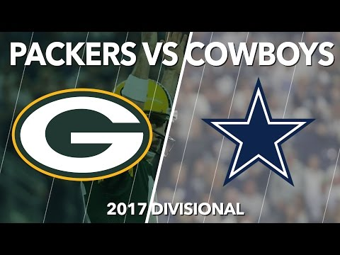 Packers Beat Cowboys 2017 NFL Playoffs