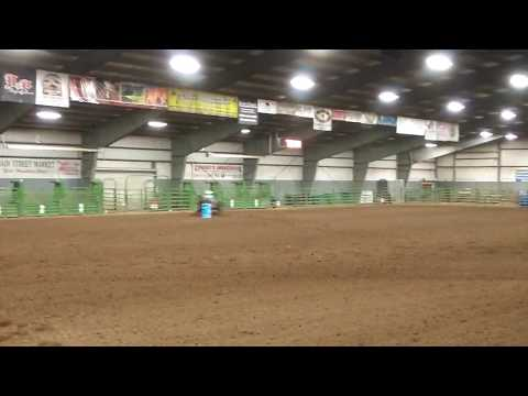 Matia Townsend on Speedy at Panguitch high school rodeo