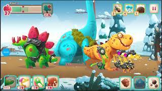 Динозавры Атака Троглодитов 21.dino Bash веселые видео игры как мультики про динозавров.dinosaurs