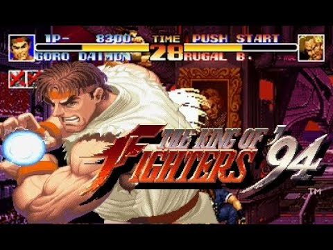 Ryu vs the king of fighters 94
