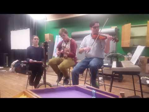 Paden City High School Thespian Troupe rehearsal