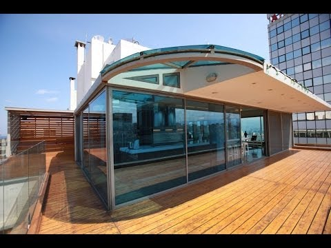 Creative Roof Apartment in Beirut With Expansive City Views [HD]