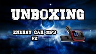 ENERGY CAR MP3 F2, unboxing Reproductor MP3 para coche con transmisor FM de la marca Energy Sistem