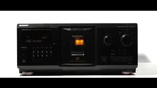 Sony CDP-CX350 300 CD changer