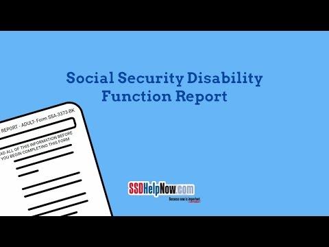 SSA-3373: The Function Report - SSDHelpNow com