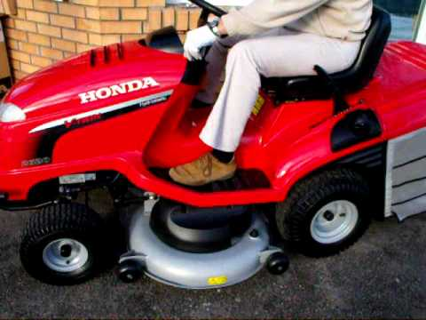 Honda Hf2620h Hydrostatic Tractor Youtube