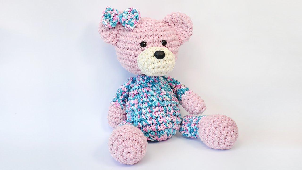 maxi-amigurumi-juju-euroroma-spesso | Urso de crochê, Ursos de ... | 720x1280