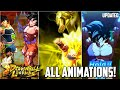 ALL SUMMONING ANIMATIONS IN DRAGON BALL LEGENDS! [UPDATED]