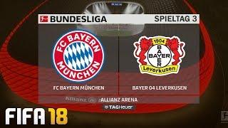 ⚽ FIFA 19 Bundesliga FC Bayern München : Bayer 04 Leverkusen 🏆 Gameplay Deutsch Livestream