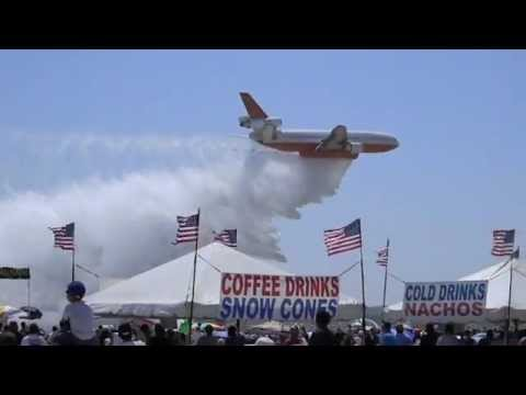 DC-10 Water Drop, Fire Fighting Tanker Planes
