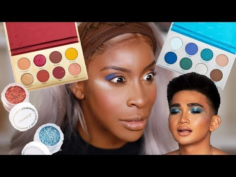 Bretman You Ain鈥檛 SLICK! Trying the Bretman Colourpop Collection! | Jackie Aina