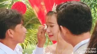 Cô dâu khóc như mưa khi về nhà chồng ! || Khoa Angel