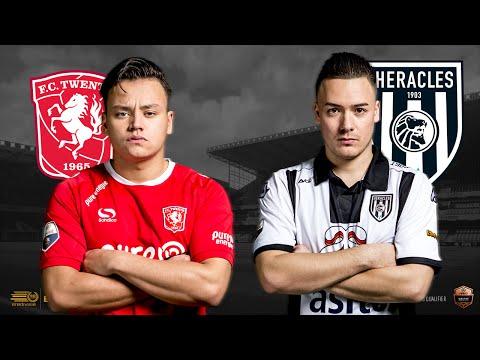 Jaimy van den Boogaard - Bryan Hessing   FC Twente - Heracles Almelo    Speelronde 19   E-Divisie