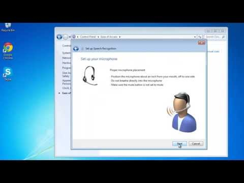 How to Use Speech Recognition in Windows 7