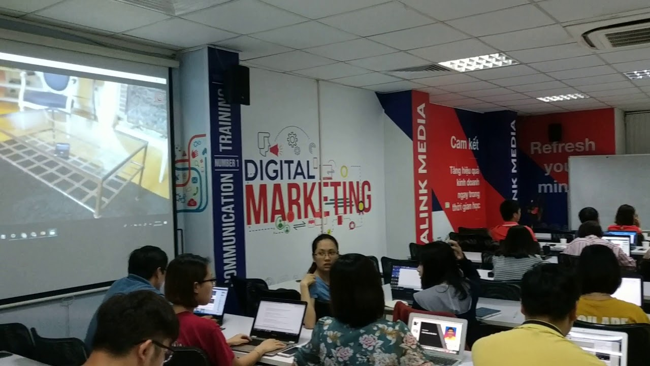 Lớp học marketing online tại Vinalink