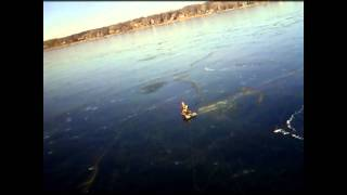 Ice Sled Kiting On Medicine Lake