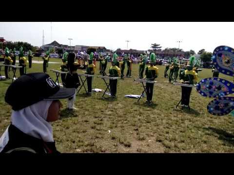 Marching band Mts Nu Demak judul lagu rekayasa cinta