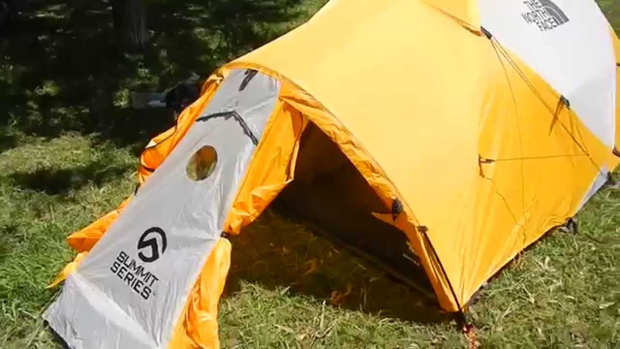 & carpa the north face mountain 35 tent - YouTube