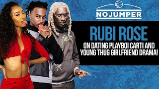 Rubi Rose On Dating Playboi Carti & Young Thug Girlfriend Drama!