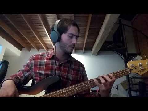 Radiohead - Weird Fishes/Arpeggi (bass Cover)
