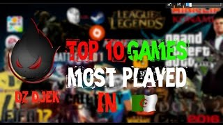 Top 10 Games Most Played In Algeria