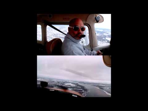 Solo Circuits Winter Soft Take Off And Landing CYRO Cessna 172 Rockliffe Flying Club