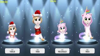 My Talking Angela Gameplay Level 927 VS Level 942 VS Level 733 VS Level 743