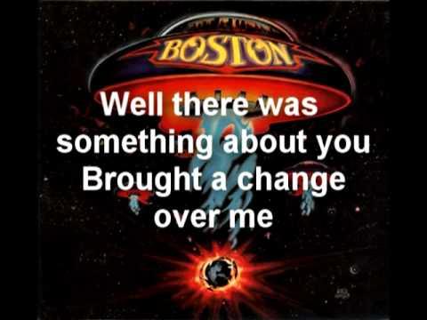 Boston- Something About You with Lyrics