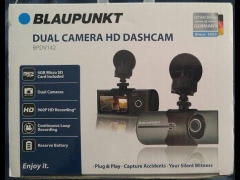 Blaupunkt Dashcam BPDV142  REVIEW DON'T BUY  (MUST WATCH)