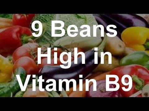 9 Beans High in Vitamin B9