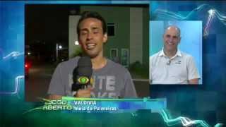 Depoimento de jogadores do verdão para São Marcos no jogo aberto (14/08/12)