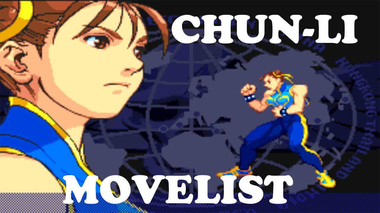 Street Fighter Alpha 3 Ryu Move List Youtube