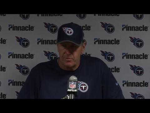 Titans at Jets : Mike Mularkey Postgame Press Conference