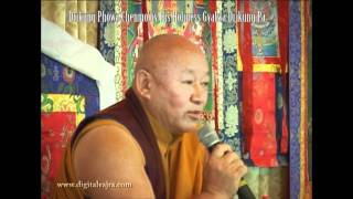 Drikung Phowa Chenmo by His Holiness Gyalwa Drikung Pa Part 3