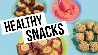 4 HEALTHY SPRING SNACK RECIPES