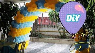 Como Fazer Tunel de Balão para Festas