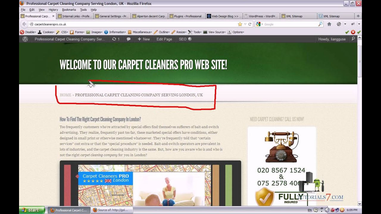 On Page SEO WordPress - Video Tutorial about optimizing your WordPress articles and website ...