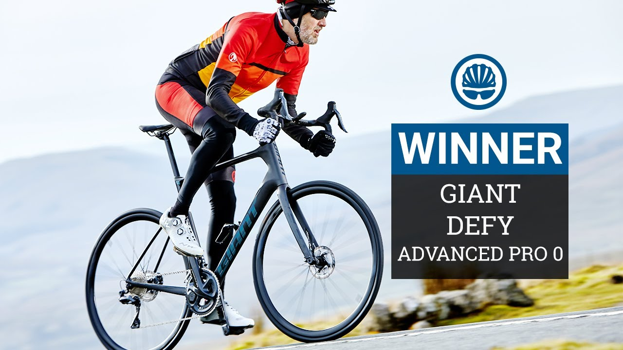 Comfort Road Bike of the Year WINNER | Giant Defy Advanced Pro 0