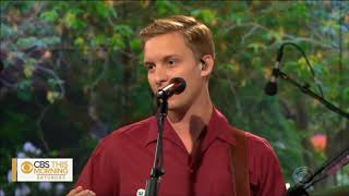 "George Ezra sings ""Shotgun and Paradise"" Live on CBS This Morning 2019. HD 1080p"