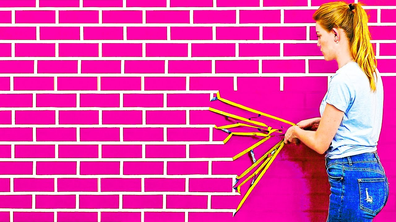 25 CREATIVE WALL PAINTING HACKS AND DESIGN IDEAS