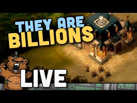 LIVE - They are Billions - Nova Versão! | Gameplay Survival PT-BR