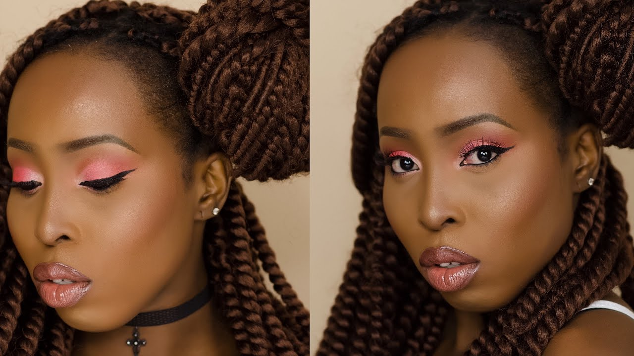 Natural Makeup Tutorial Dark Skin Makeup Tutorial, Dark Skin ...