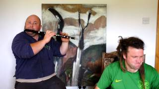 Brian Morgan (Flute) and Joe Doyle (Bouzouki) Play 2 jigs- the 2nd Is called