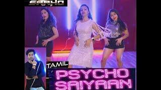 Kadhal Psycho Dance Cover Saaho Tamil Prabhas Shraddha Kapoor Lenin& 39 s choreography