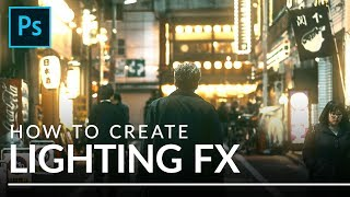How to Create Lighting Effects in Photoshop