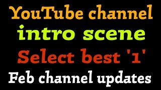 INTRO SCENE FOR CHANNEL And Upcoming Updates | TRICKY TAMIZHA |