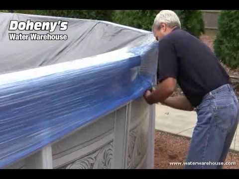 How to seal your swimming pool for winter youtube for How to close your swimming pool for winter