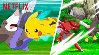 Фото Most EP C Pokémon Battles From Pokémon Master Journeys The Series 💥 Netflix Futures